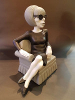 0000 - Figurine Les Barbouzes - Mireille DARC - Jacky Samson