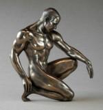 Figurine Sculpture Corps d'homme