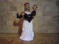 1 A - Figurine  mariés