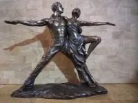 Figurine Sculpture Danseurs Tango