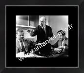 0000 - Photo encadrée du FILM Les Tontons Flingueurs  SCENE de la CUISINE avec FOLACE RAOUL ET PAUL VOLFONI