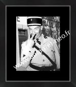 Photo encadrée du FILM Le Gendarme de St TROPEZ avec LOUIS DE FUNES