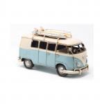 Véhicule métal Combi SURF Volkswagen VW  Bleu