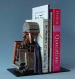 Figurine Arcimboldo Bibliothécaire serre livre