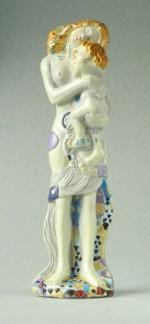Figurine Klimt Pocket Art Les 3 phases de la Vie d'une femme