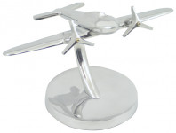 Maquette Métal Avion  Déco bureau -  Aluminium