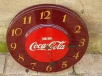 Antiquité  Horloge pendule COCA COLA année 50 USA