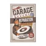 Tole en relief garage reparation express