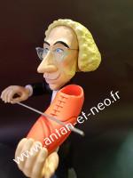 Figurine Pierre RICHARD dans le film Le grand Blond avec une Chaussure Noire - Saint Emett