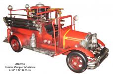 Véhicule métal Camion de Pompier