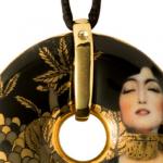 0AAAA - Bijoux Collier en Porcelaine  Gustav KLIMT Judith I