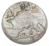 000 - Presse Papier Cartographie Ancienne