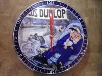 Horloge Publicitaire ANTAN ET NEO Dunlop