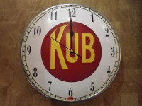 Horloge Publicitaire ANTAN ET NEO Kub modèle 1