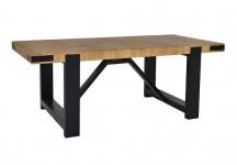 TABLE BASSE NATURE, PIÈTEMENT NOIR BITBB11FE