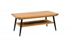 TABLE BASSE THOR bois et metal BITBB01