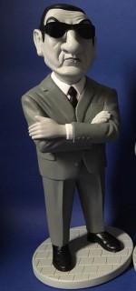 0000 Figurine Les Barbouzes - Lino Ventura - Jacky Samson