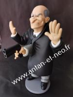 0000 - RESERVATION Figurine Commissaire JUVE- Caricature de Louis de Funés - Saint Emett - FANTOMAS