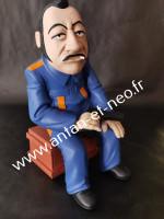 0000000 Figurine COLUCHE Tchao Pantin - Saint Emett