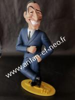 0000000 Figurine Jean Dujardin - OSS 117 - Saint Emett