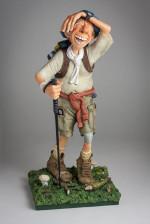 Figurine de Guillermo FORCHINO LE RANDONNEUR GM