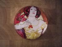 Presse Papiers Art nouveau MUCHA Ruby