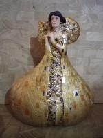 Figurine Adèle KLIMT art nouveau