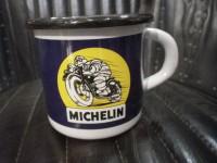 MUG Email -  Michelin Bibendum Moto  - Enamel TIN sign advertising EMAIL-Bis