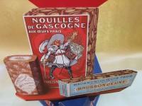 0000 - Antiquité publicité Pâtes Brusson Jeunes - Nouilles de Gascogne